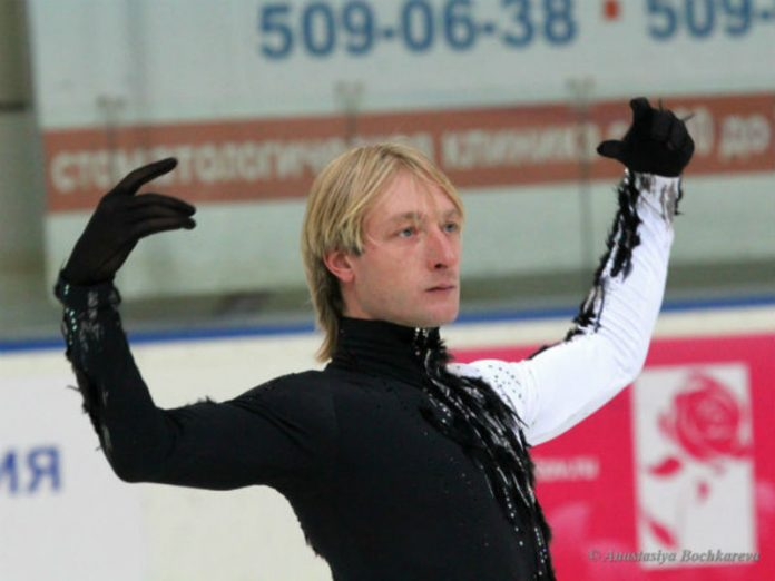Plushenko was the coach of the Russian figure skating team