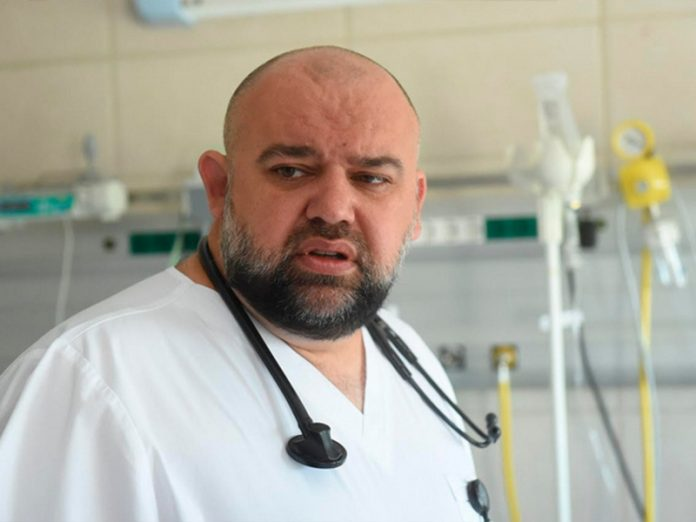 Putin in the Day of the doctor made a Hero of labor of the head physician of the hospital in Kommunarka