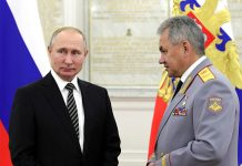 Putin ordered Shoigu to help the response to fight coronavirus