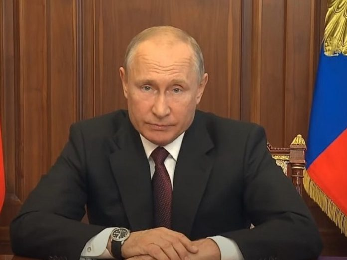 Putin outlined the