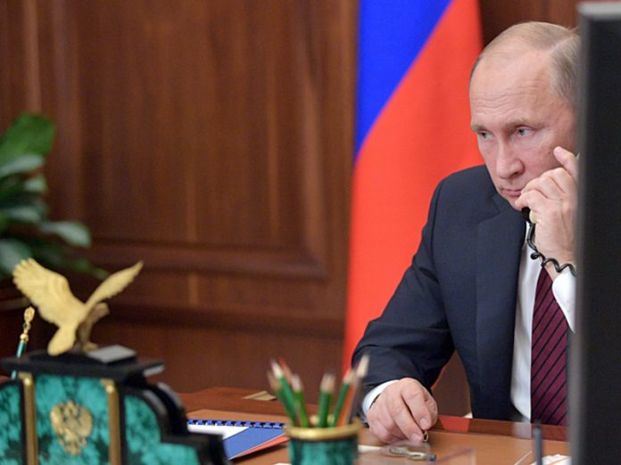 Putin told Merkel about the feasibility of establishing a direct dialogue between Kiev, Donetsk and Lugansk