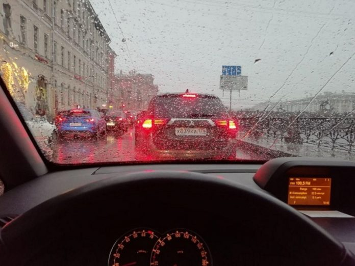 Rainy weather awaits residents of St. Petersburg on Friday