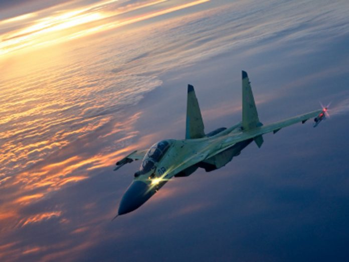 Russian fighter jets went up to intercept US bombers