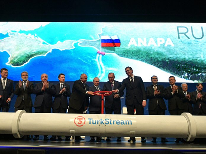 Russia's share in the Turkish import of gas has decreased dramatically