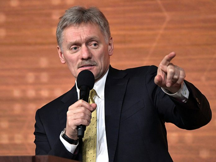 Sands: the Kremlin, the LGBT flag is not visible