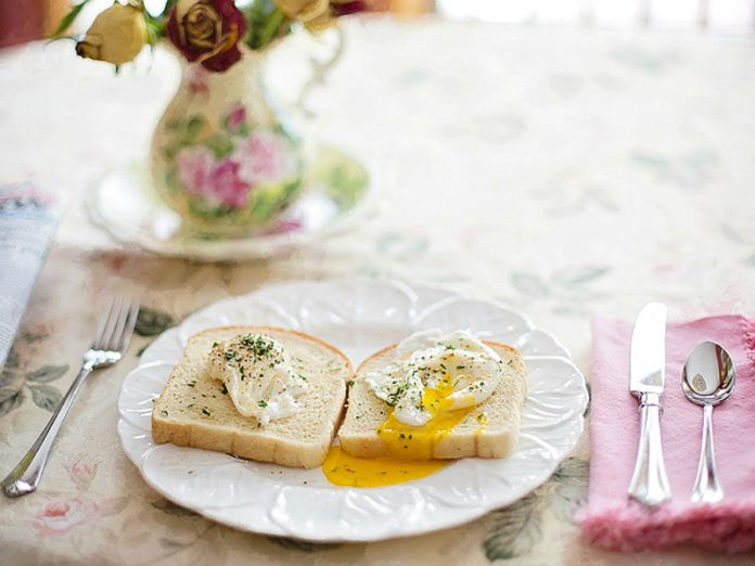 Scrambled eggs turned out to be a boon for hypertensive patients