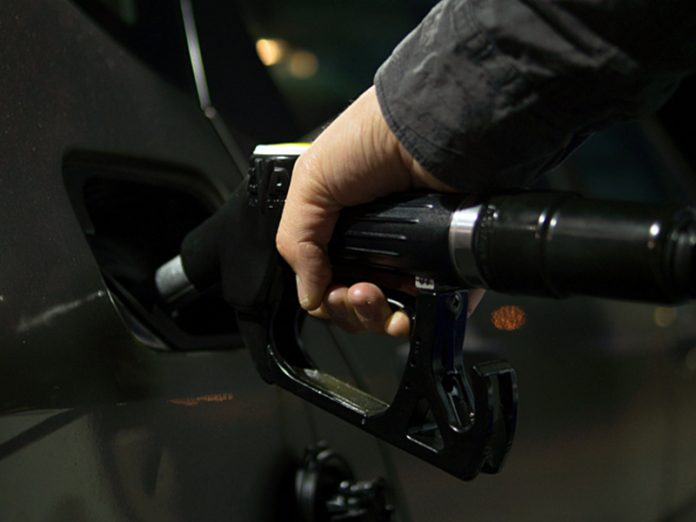 Stock prices for gasoline in Russia rose to a new high