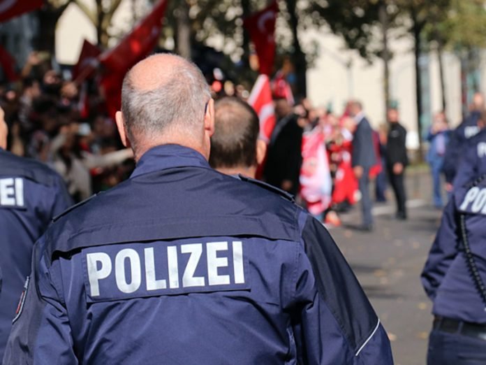 The car in Munich rammed a crowd of people, there are wounded