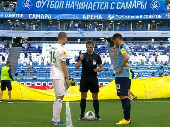The championship of Russia on football was resumed in Samara the match, the outsiders, who scored on two 6 balls