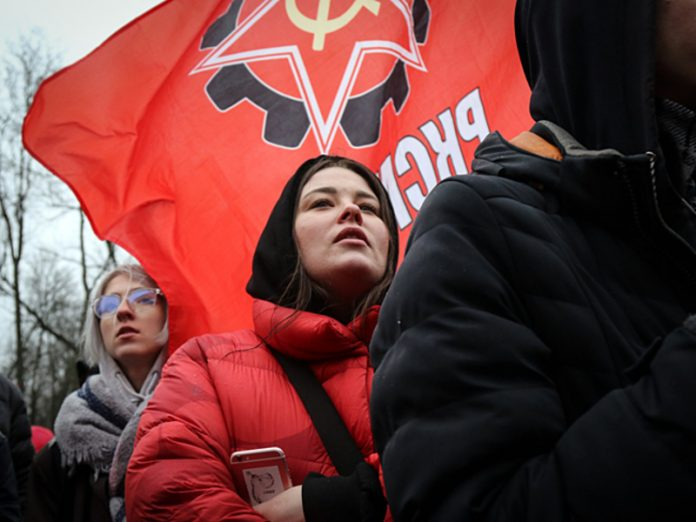 The Communists of Russia, called for an end of disklinatsii of the unbelieving people in St. Petersburg