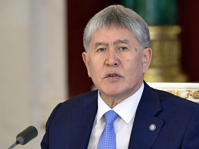 The convicted ex-President of Kyrgyzstan are not infected with coronavirus, but fell ill with pneumonia