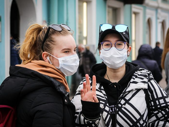 The Czech expert has called the most appropriate way of wearing a protective mask