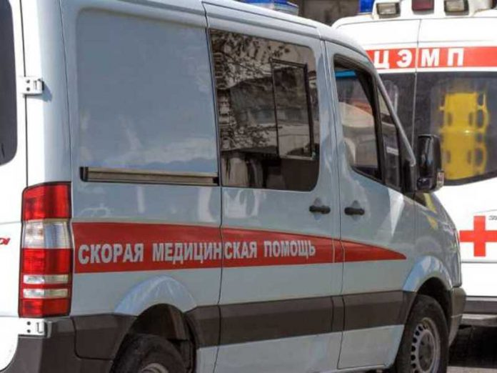 The driver crashed into a bus stop in new Moscow and killed
