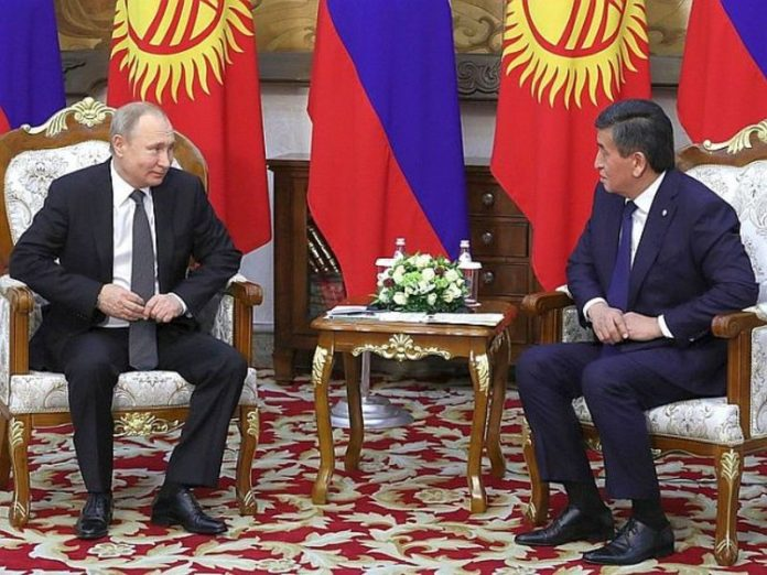 The President of Kyrgyzstan left for self-isolation after the parade in Moscow