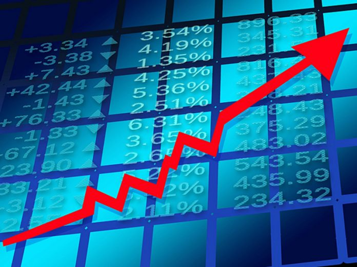 The Russian stock market started the week on a positive note