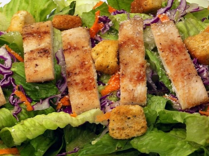 The three components of the salad proved to be harmful to health