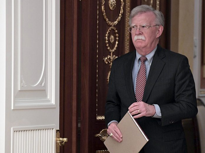 The U.S. justice Department demands to suspend the publication of the book of Bolton about trump