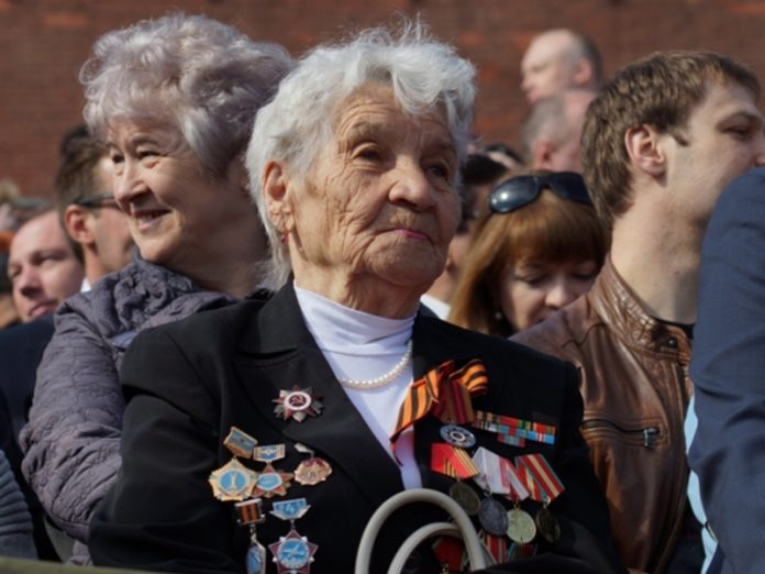 The veterans will watch the parade on red square without a mask