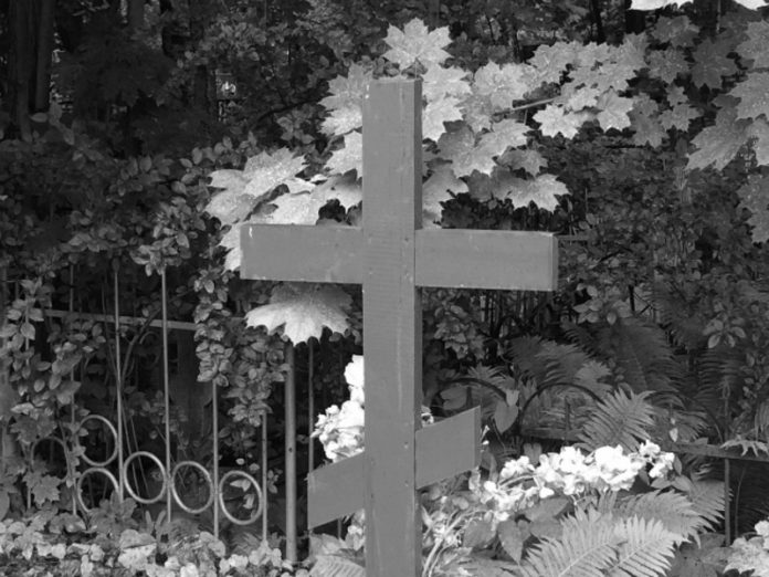 The victim of an accident involving Ephraim was buried in the village near Ryazan