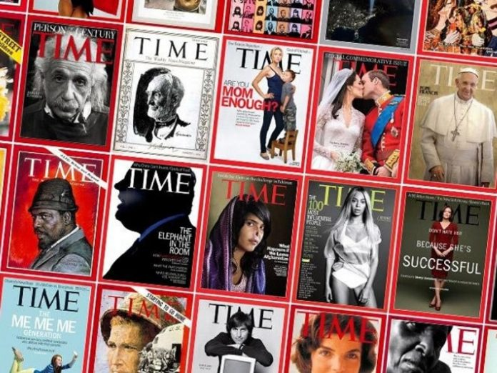 Time devoted the cover of African Americans killed by police action