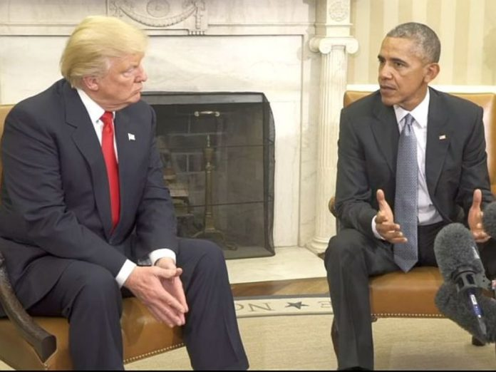 Trump accused Obama of spying for his election campaign and treason