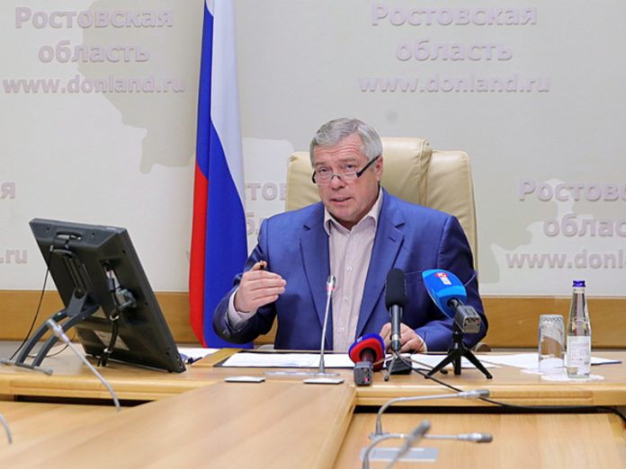 Vasily Golubev: the Key objective of our work is to make the Rostov region a leading region
