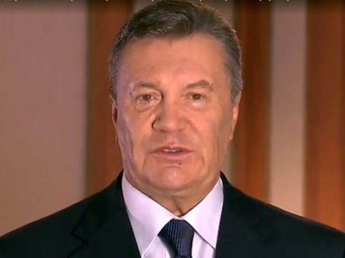Yanukovych was suspected of treason, he faces up to 15 years of jail in Ukraine