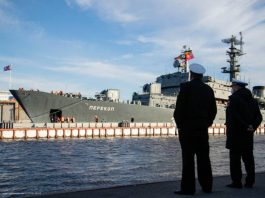 A naval parade will block traffic on streets and bridges of St. Petersburg
