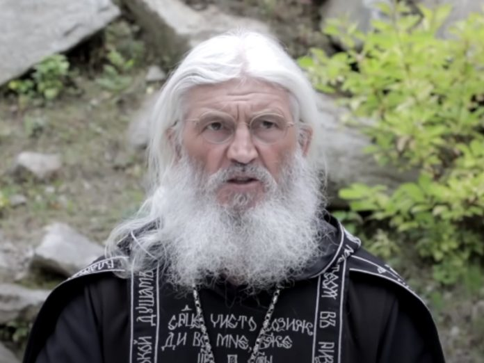 Abbot Sergius deprived of Holy orders