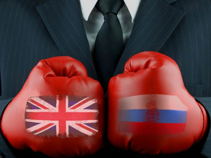 Britain imposed new sanctions against the Russians on
