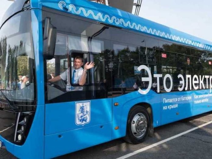 By the end of the year in Moscow will run around 600 buses