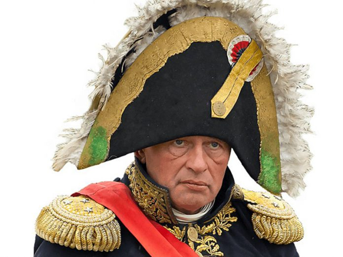 Colleague: hawks identified himself with Bonaparte and asked us to call him