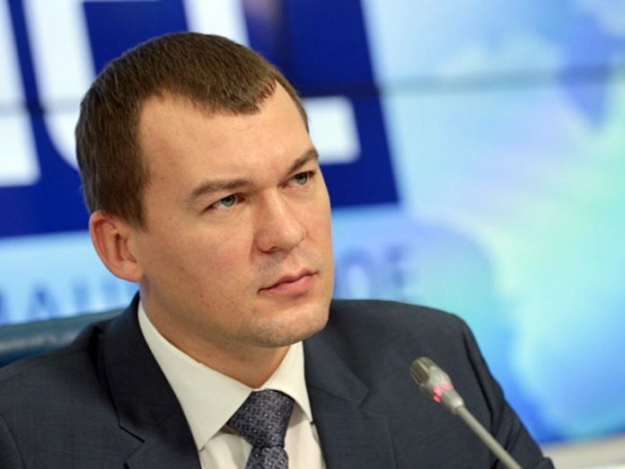 Degtyarev said that he met with the protesters, because it was necessary to