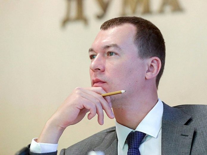 Degtyarev: the protests in Khabarovsk seized several knives and an axe