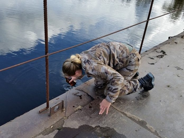 Departments: a Source of pollution of the Kama river is the sludge collector