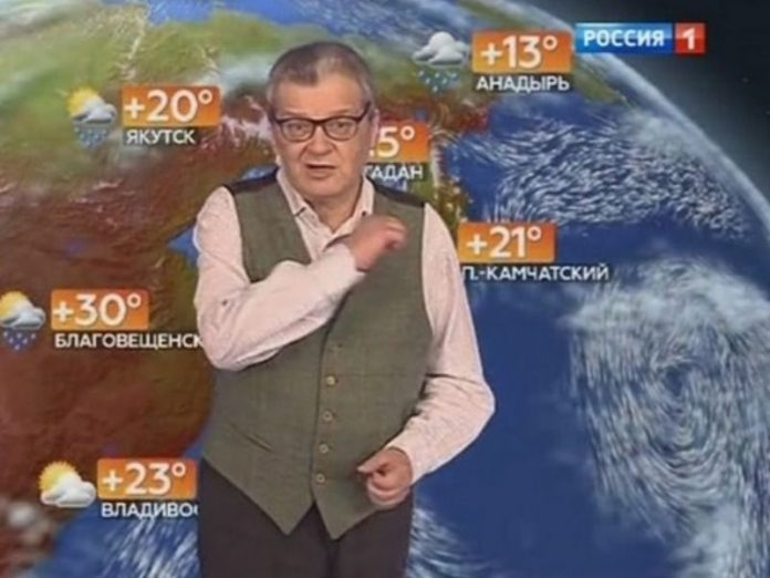 Died a famous TV presenter of the weather forecast Alexander Belyaev