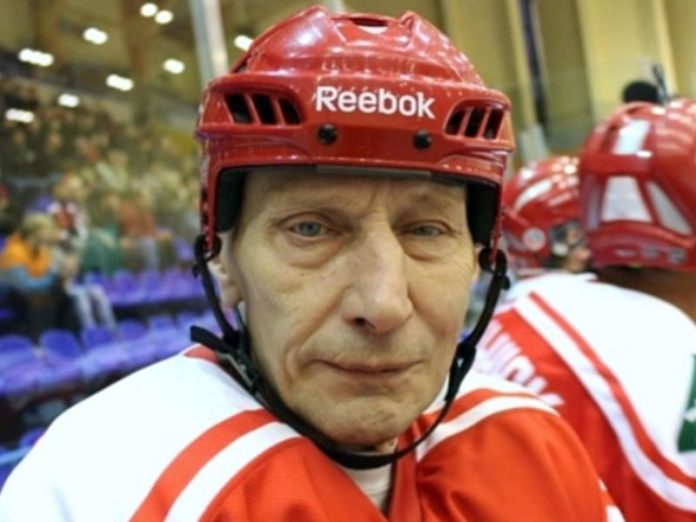 Died the famous Soviet hockey player Alexander Gusev
