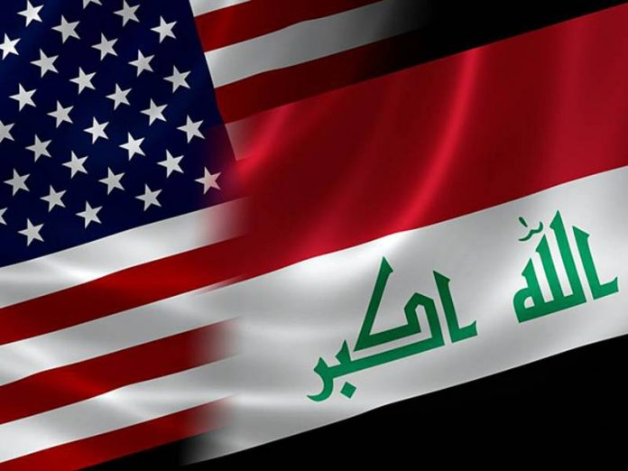 District of the U.S. Embassy in Iraq fired missiles
