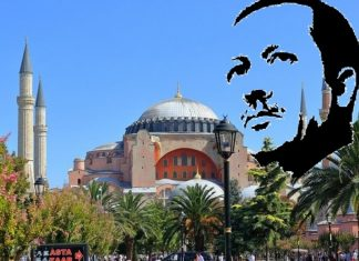 "Erdogan was allowed to ""reset"" the Orthodox status of the Hagia Sophia"