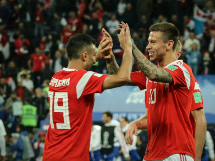 Football player Fedor Smolov returned to the