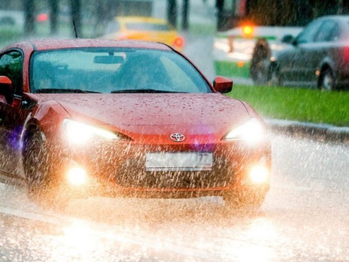 Forecasters said when in Moscow over a series of showers