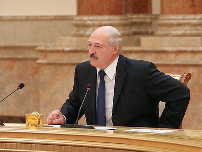 In Belarus, said that the detained Russians consisted in PMC