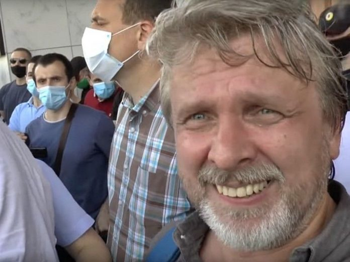 In Khabarovsk detained video blogger covering the protests