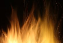 In Krasnoyarsk region burned a warehouse of building materials