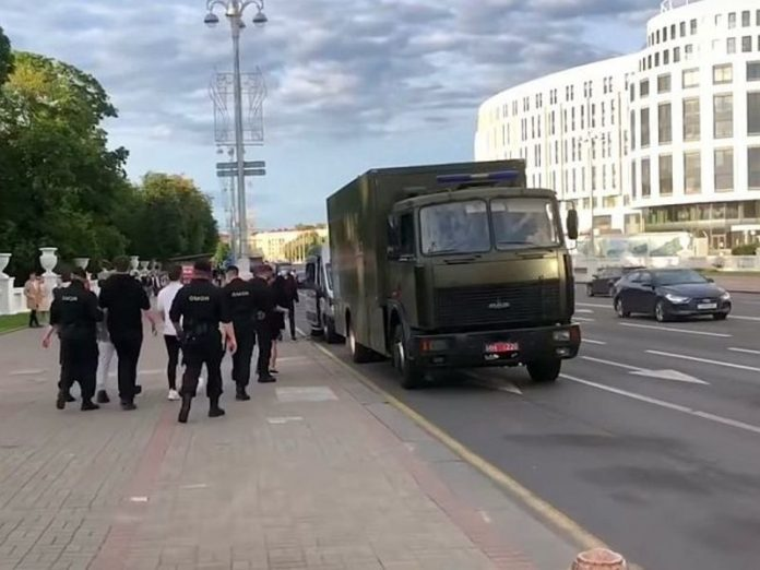 In Minsk have detained the journalist of the Russian news agencies