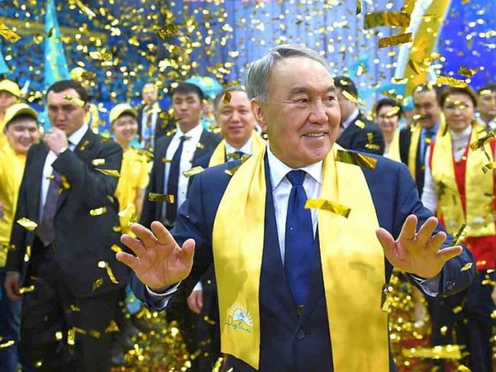 In Russia, Nazarbayev made a gift for the 80th anniversary and decided to call in his honor tanker