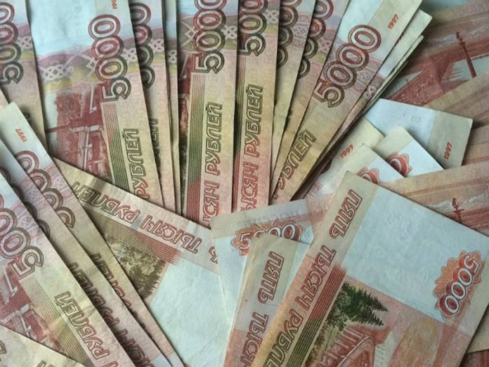 In Russia they have calculated the amount of cash in circulation
