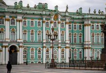 In St. Petersburg a chance of rain