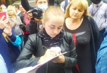 In St. Petersburg began an action against amendments to the Constitution (photo)