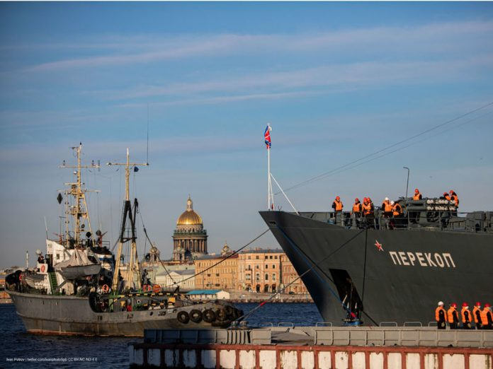 In St. Petersburg, postponed the rehearsal of the parade devoted to Navy Day